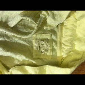 "Luxletic yellow sweater ""cassi popover"""